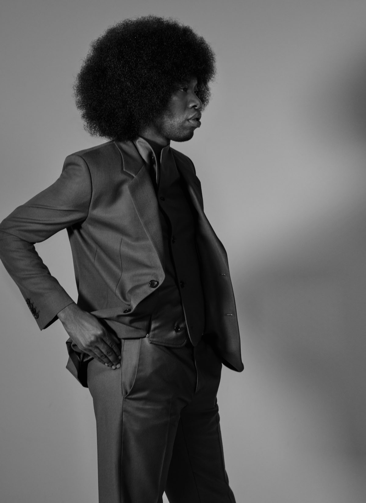 Jeremy O. Harris for Suited Magazine, Pants: The Row