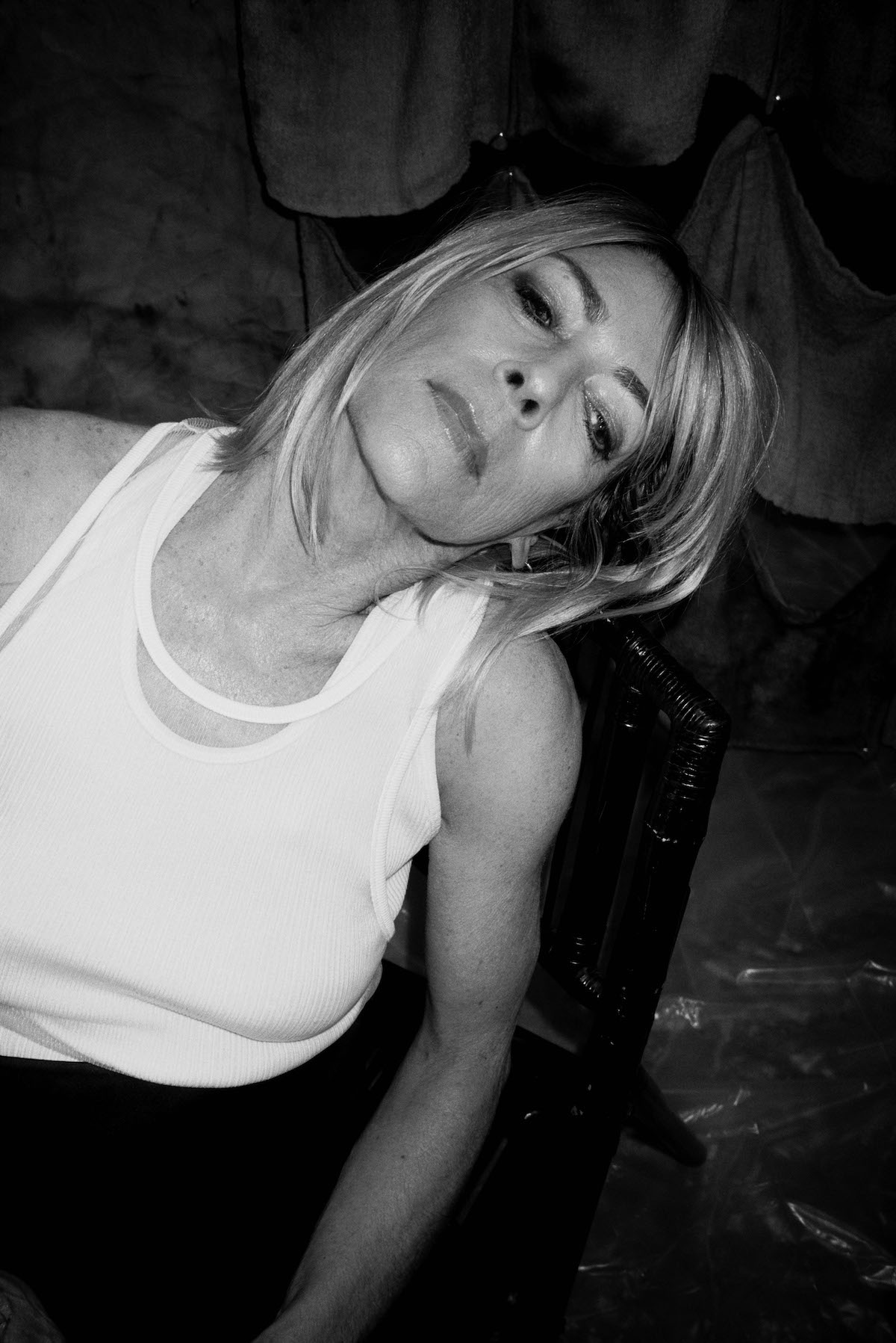 Kim Gordon for Suited Magazine Issue 8